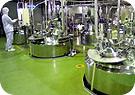 コンピュータによる生産管理体制
