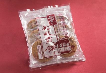 銚電のぬれ煎餅
