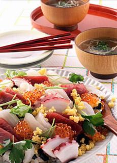 お手軽ちらし寿司
