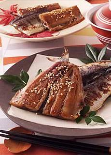秋刀魚で干物を作る